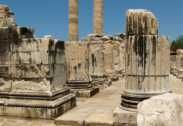 Turkey, Didyma, Temple, Ruin, Columnar, Hellenic