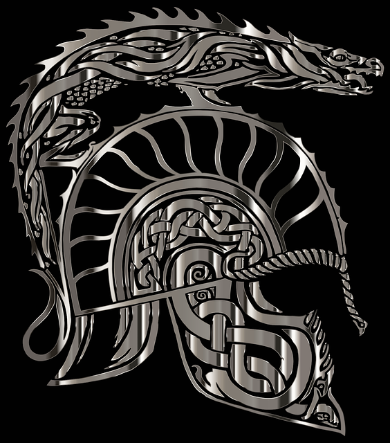 Armor, Dragon, Helm, Helmet, Lord Of The Rings