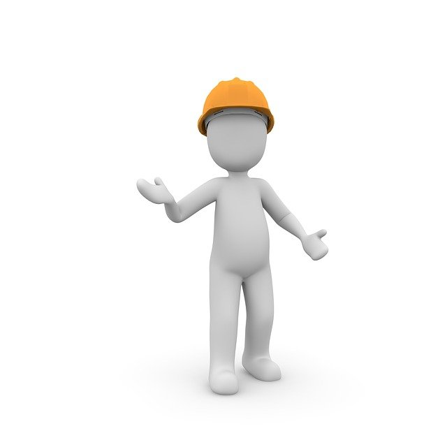 Construction Workers, Site, Helm, Build, Work