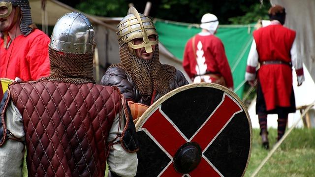 Human, Armor, Shield, Helm, War, Weapon, Festival