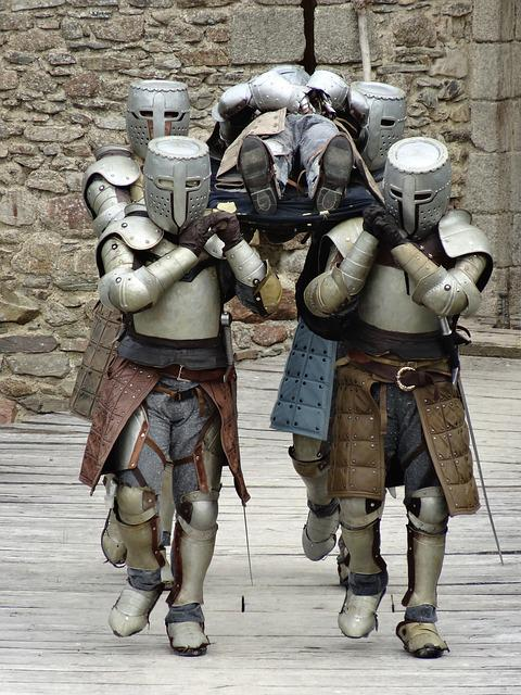 Knights, Medieval, Corpse, Armor, Helmet, Chivalry