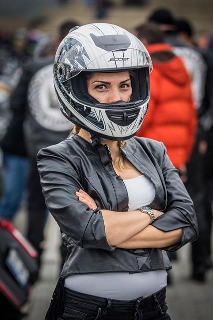 Competition, Helmet, Bike, Street, Woman