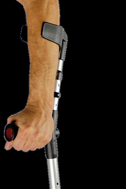 Walker, Crutches, Handicap, Mobility Problems, Help
