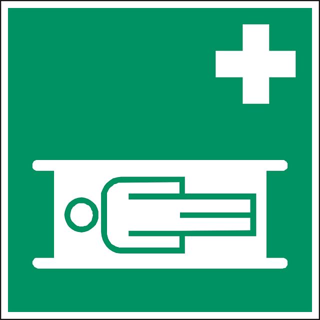 Stretcher, Help, Sign, Symbol, Icon, Green
