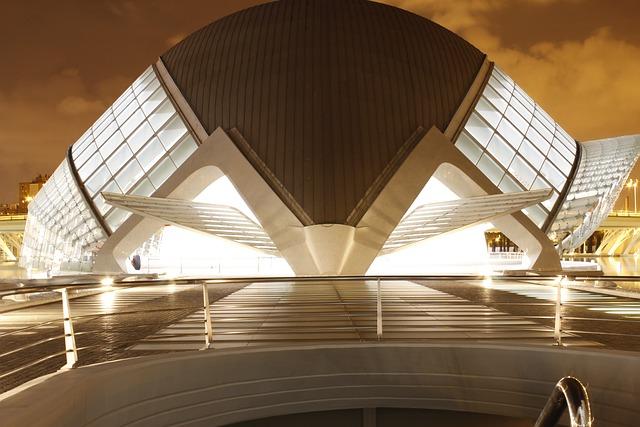 Hemisfèric, Valencia, Valencia Night, Architecture