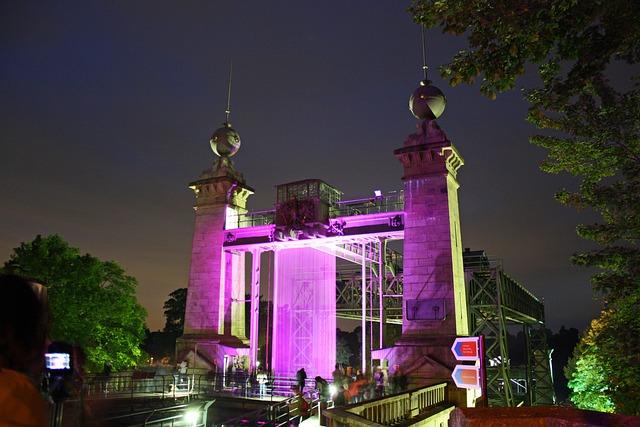 Illumination, Extra Layer Of, Henrichenburg, Ruhr Area