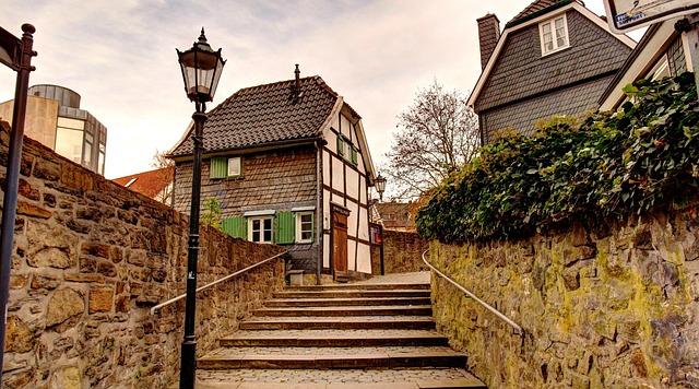 Hattingen, Ruhr, Old Town, Blankenstein, Henrichshütte