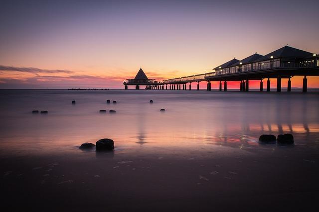 Sea Bridge, Heringsdorf, Island, Usedom