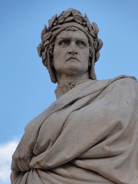 Dante, Florence, Alighieri, Tuscany, Heritage, Works