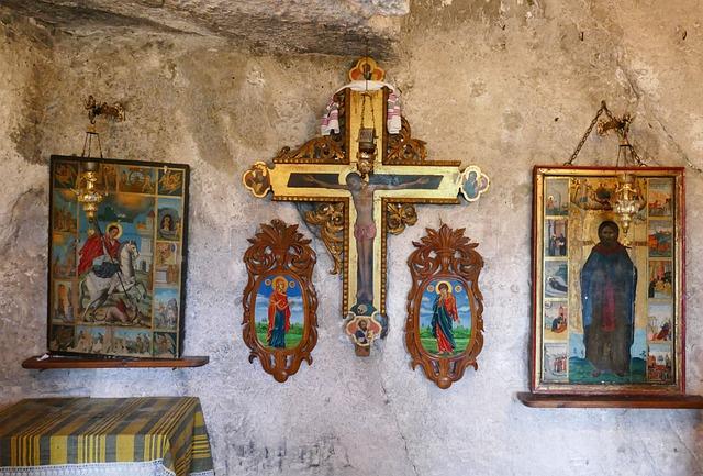 Monastery, Cave Monastery, Hermit, Bulgaria, Rousse
