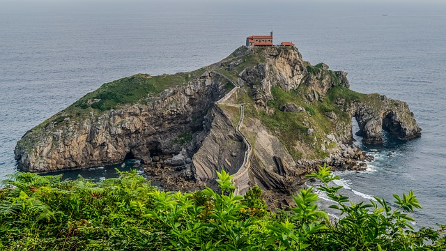Hermitage, Basque Country, Landscape, Nature, Spain