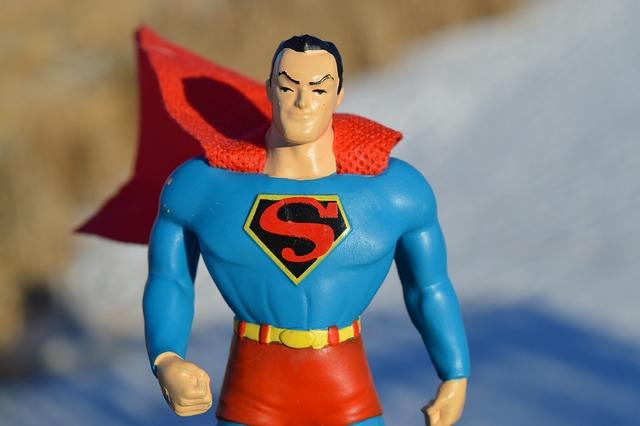 Superman, Superhero, Hero, Power, Success, Strength