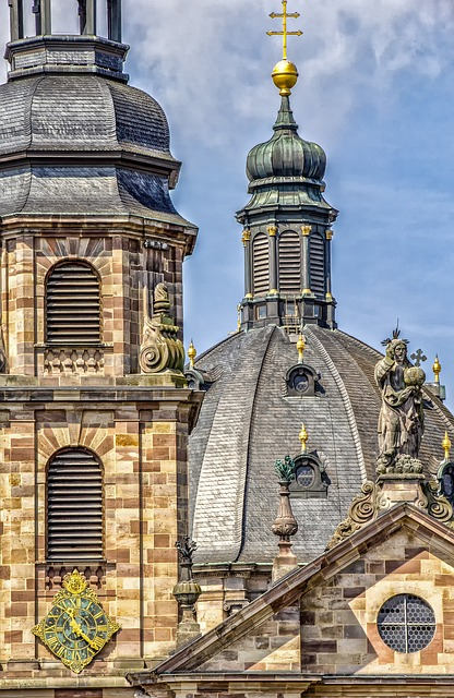 Architecture, Building, Fulda, Dom, Hesse, Historically