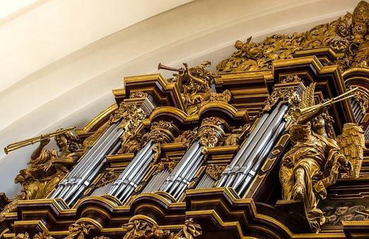 Organ, Dom, Fulda, Hesse, Church, Architecture