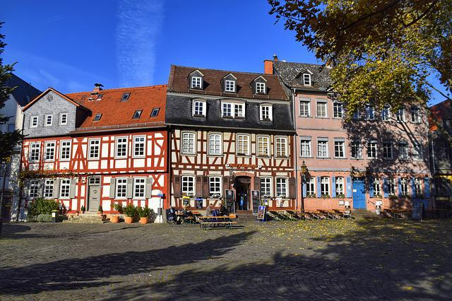 Frankfurt, Maximum, Hesse, Germany, Old Town, Truss