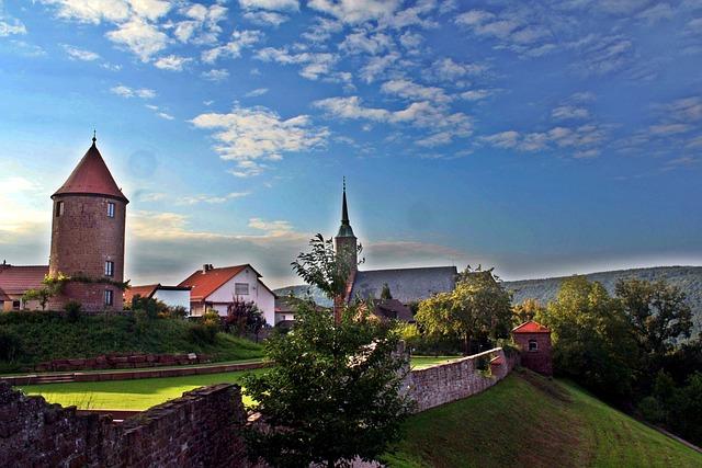 Hike, Odenwald, Fortress, Neckar, Medieval, Hesse