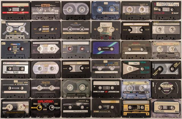 Cassettes, Tinge, Magnetband, Hifi, Sound, Audio