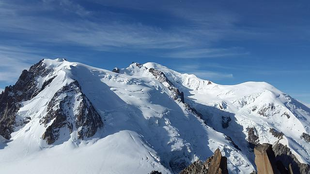 Mont Blanc, High Mountains, Alpine, Mont Blanc Du Tacul