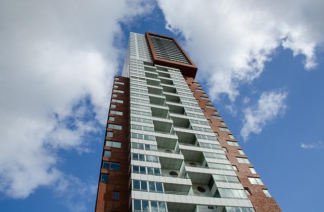 Rotterdam, Skyscraper, City, High Rise, Business