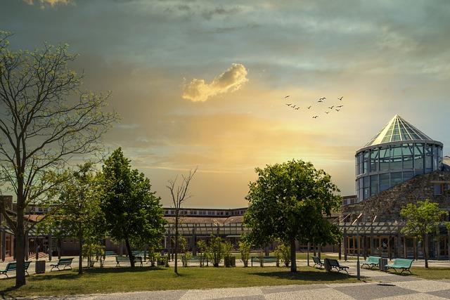 High School, Templin, Uckermark, Brandenburg, School
