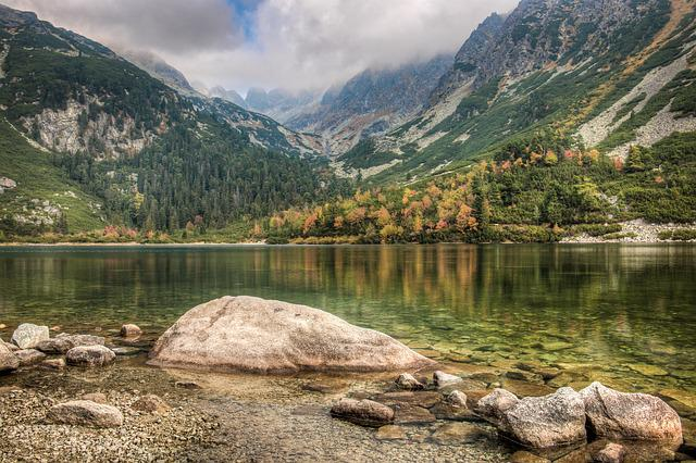 Bergsee, High Tatras, Water, Mountains, Landscape, Lake