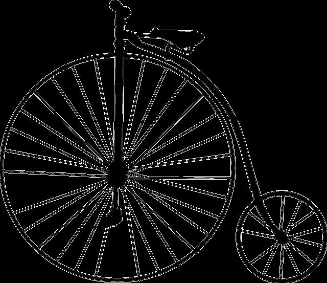 High-wheel Bicycle, Bike, Penny-farthing, Retro