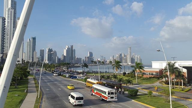 Panama City Panama, Panama, Avenue, Highway
