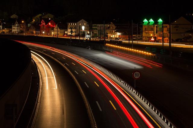Traffic, Transport System, Road, Highway