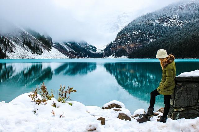 Woman, Hike, Lake, Female, Hiker, Adventure, Beautiful