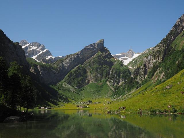 Seealpsee, Lake, Idyll, Hike, Hiking Tour, Mountains
