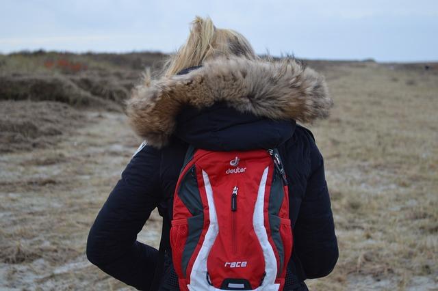 Hiking, Island, Schiermonnikoog, Backpack, West Frisian