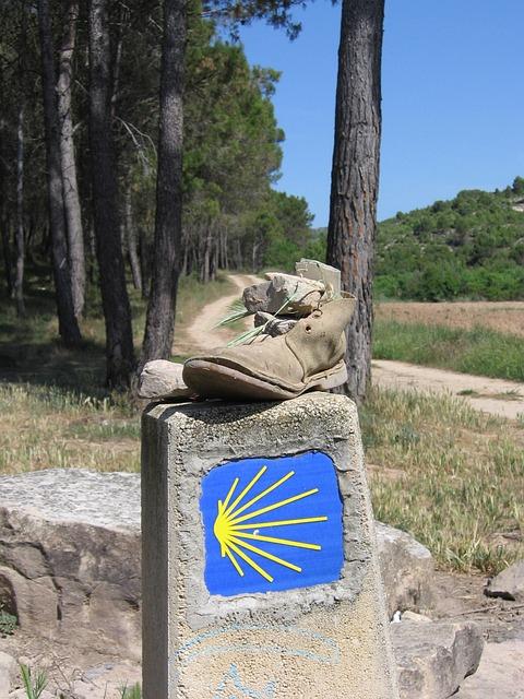 Shoe, Hiking, Hiking Shoes, Make A Pilgrimage, Old