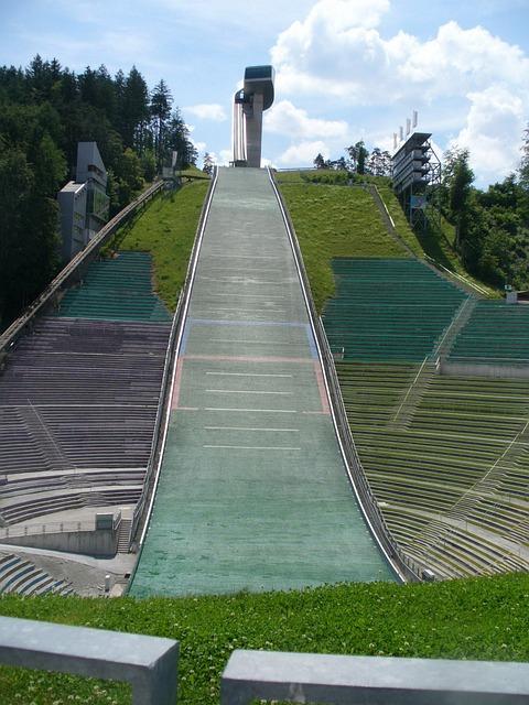 Ski Jump, Ski Jumping, Bad Mitterndorf, Hill