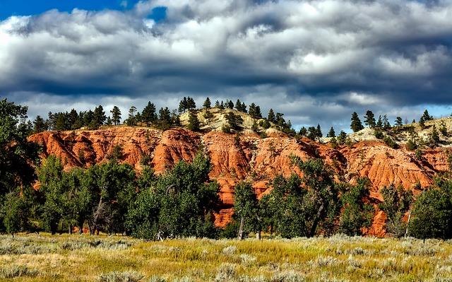 Colorado, Hills, Mountains, Meadow, Pastoral, Landscape