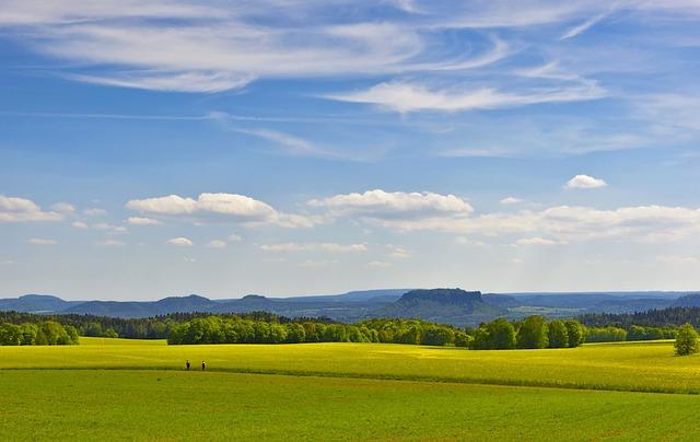 Hills, Landscape, Saxon Switzerland, Hill, Hilly