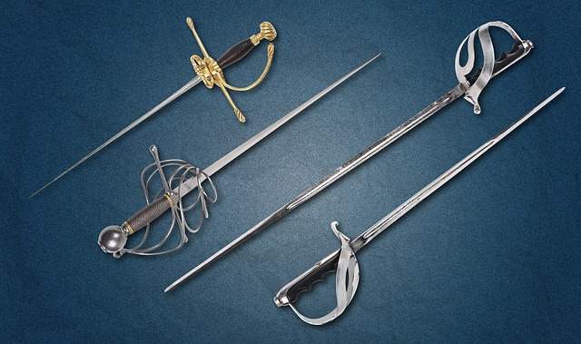Sword, Weapons, Hilt, Blade, Steel Arms, Garda, History