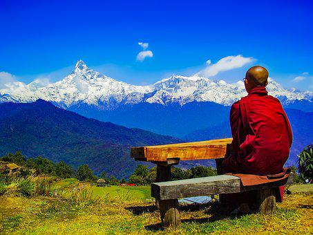 Theravada Buddhism, Himalaya Retreat, Annapurna Range