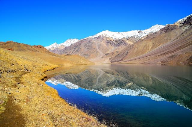 Chandra Tal, Spiti, Himachal Pradesh, India, Himalayas