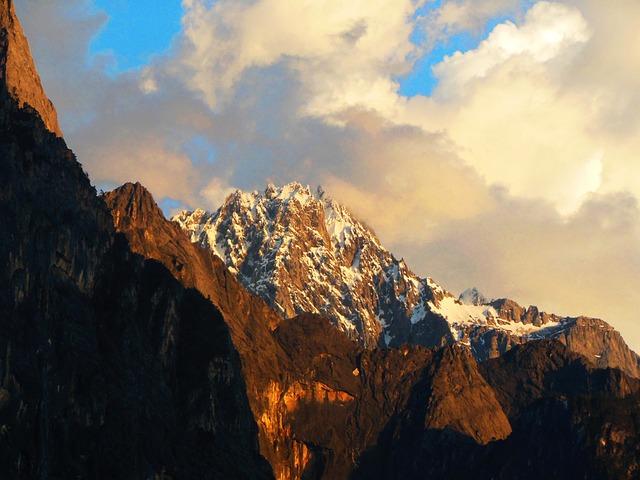 Yunnan, Himalayas, China, Mountains, Landscape