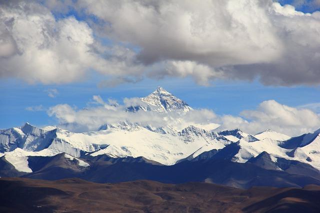 Mount Everest, Himalayas, Lhotse, Chomolungma, Panorama