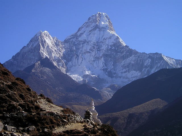 Himalayas, Ama Dablam, Mountain, Nepal, Everest, Trek