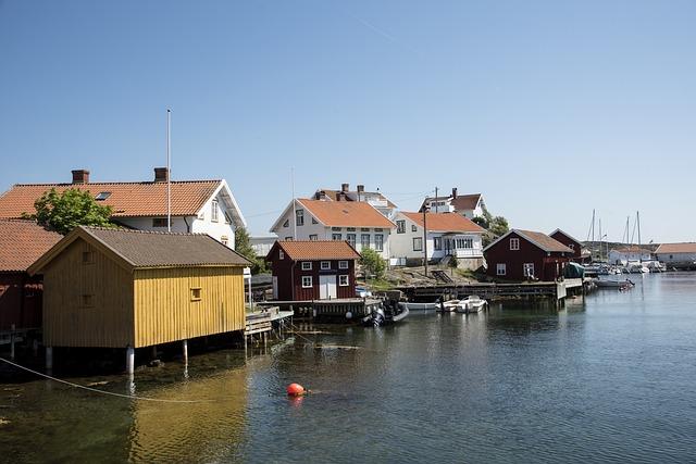 Sweden, Bohuslän, The West Coast, Sea, Water, Himmel