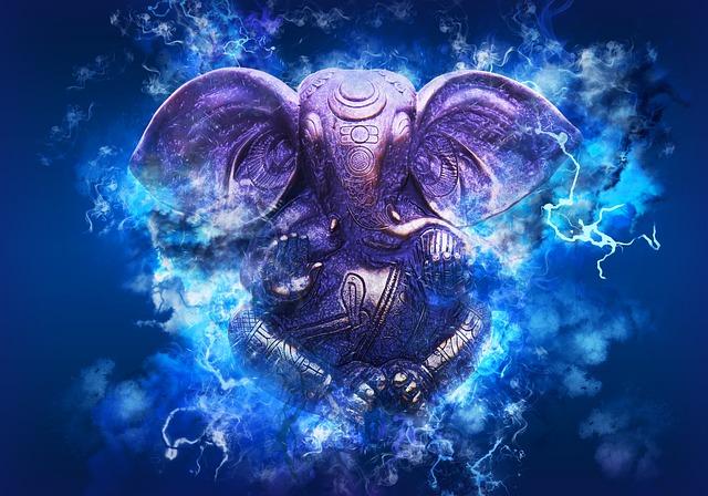 Ganesh, Ganesha, Hindu, India, God, Religion, Festival