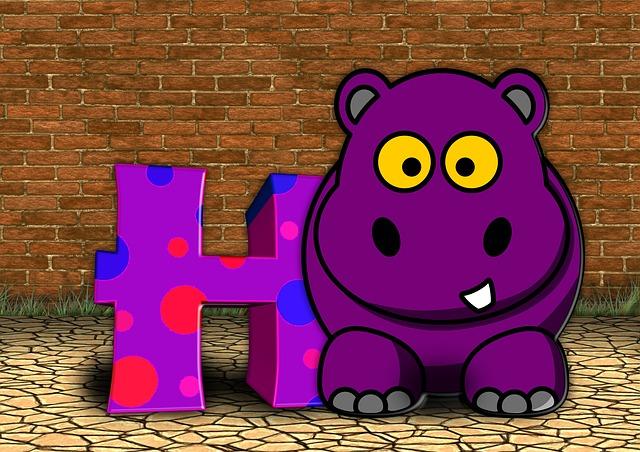 Letters, Abc, Education, Hippo, Alphabet, Literacy