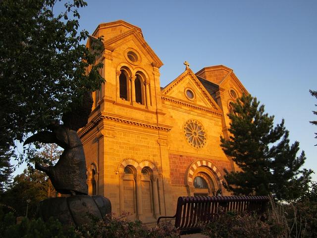 Church, Santa Fe, Architecture, Building, Historic