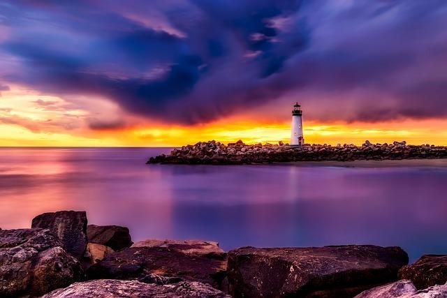 Santa Cruz, California, Lighthouse, Landmark, Historic