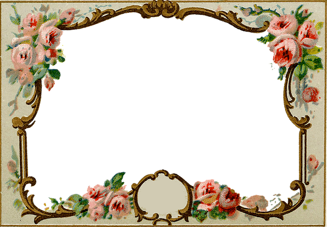Vintage, Antique, Frame, Ornate, Old, Historic, History