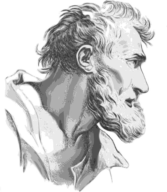 God, Full Beard, Face, Man, Expression, Historic, Male