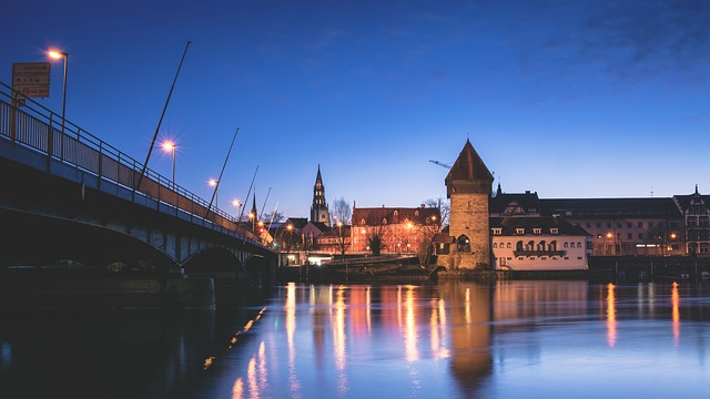 City, Old Town, Historic Old Town, Germany, Dusk