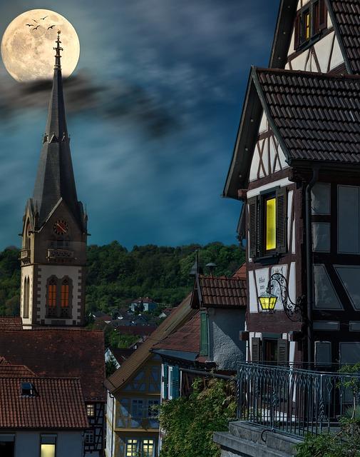 Romance, Fachwerkhäuser, Historic Old Town